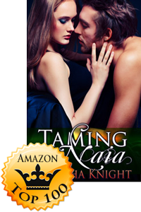 Taming Naia by Natasha Knight Makes Top100