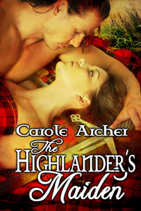 The Highlander's Maiden by Carole Archer (Post 200x300)