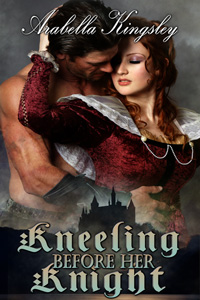 Kneeling Before Her Knight by Arabella Kingsley Detailed