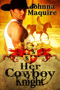 Her Cowboy Knight by Joanna Maquire Detail