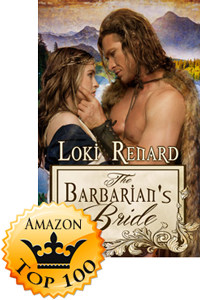 The Barbarian's Bride by Loki Renard Makes Top 100