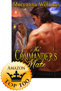 The Commander's Mate by Morganna Williams Makes Amazon Top 100