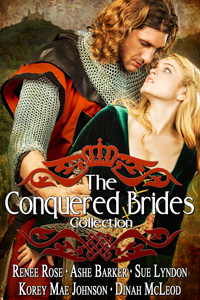 The Conquered Brides by Renee Rose, Ashe Barker, Sue Lyndon, Korey Mae Johnson, and Dinah McLeod