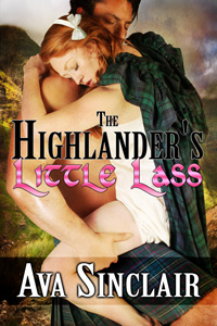 The Highlander's Little Lass by Ava Sinclair
